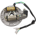 2-Coil Magneto Stator for 70-125cc Kick Start Dirt Bikes, Pit Bike