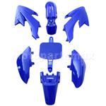Plastic Body Kit for HONDA CRF50 XR50 Style 50-125cc Pit Bikes, Dirt Bikes (Blue)