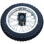 "12"" Rear Wheel Assembly for 110cc-150cc Dirt Bikes"