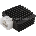 X-PRO� 4-Pin Voltage Regulator for GY6 50cc-150cc ATVs, Scooters, Go Karts