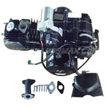 110cc 4-stroke Engine Motor Semi Auto w/Reverse, Electric Start ATVs, Go Karts